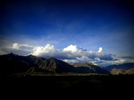 Les montagnes du Zanskar