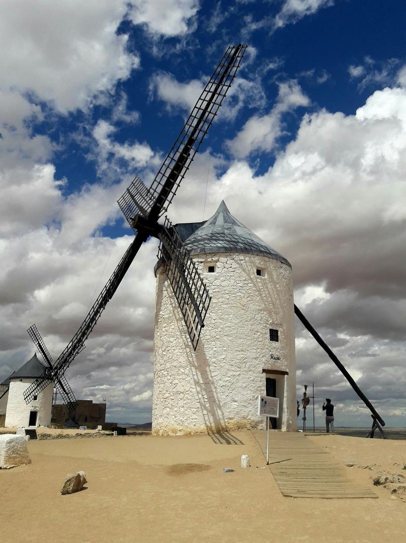 Les moulins de la Mancha