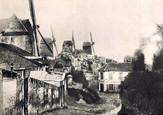 Les moulins de Montmertre