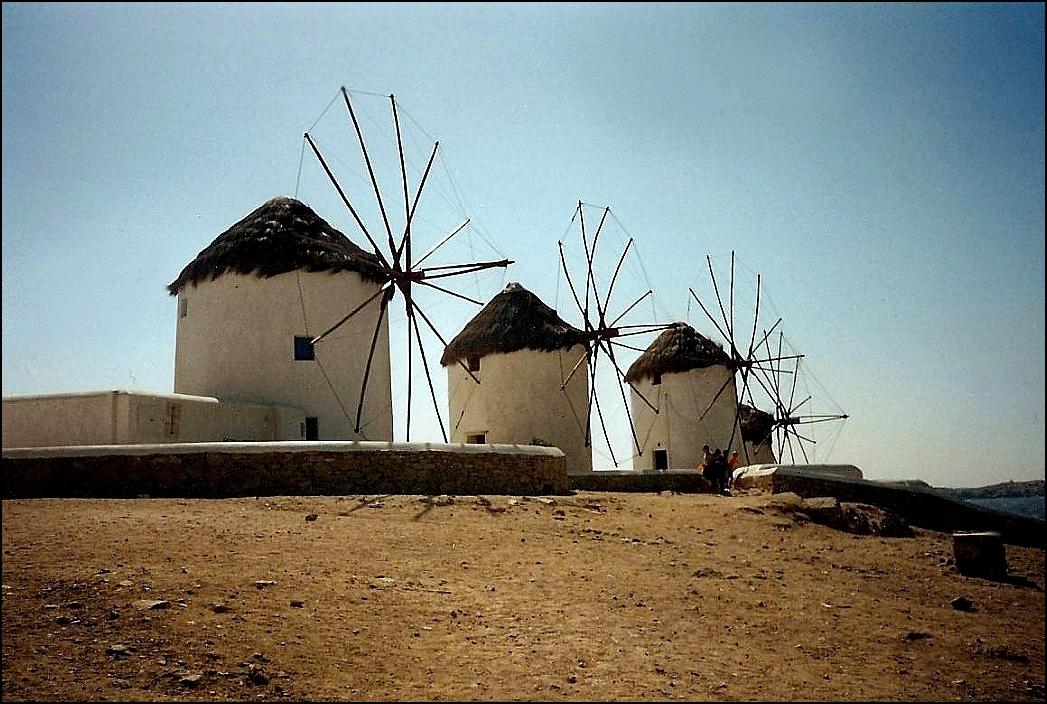 Les moulins de Mykonos !
