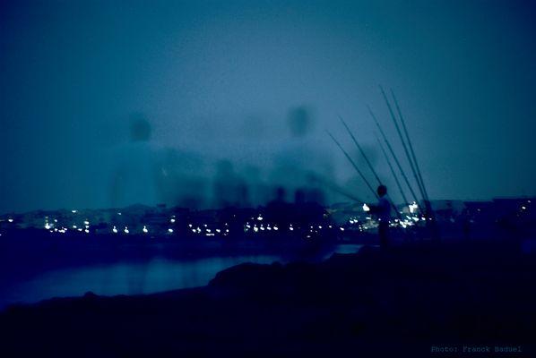 Les noctambules du bord de mer