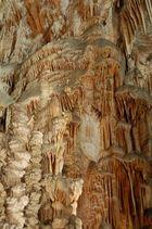 Les orgues dans les grottes d'Aven Armand