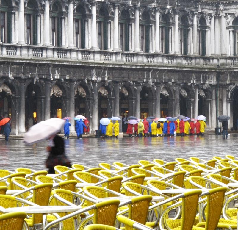 les parapluie de cher... non! de Venise