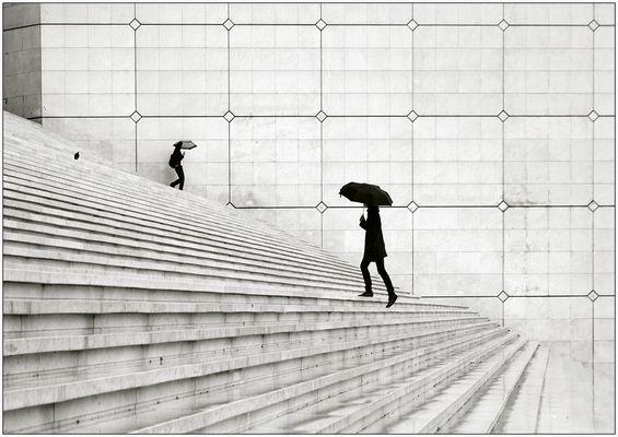 Les Parapluies....