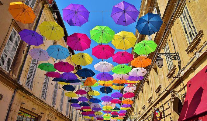 Les parapluies d'Arles.......1