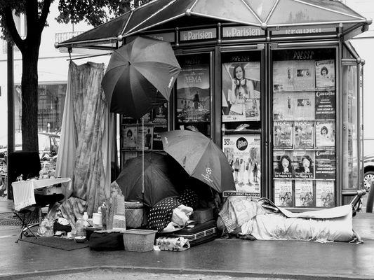 Les parapluies de Paris - Paris 8e