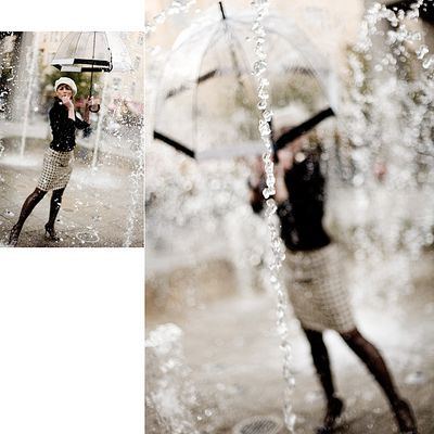 Les parapluies de ... - Variante II