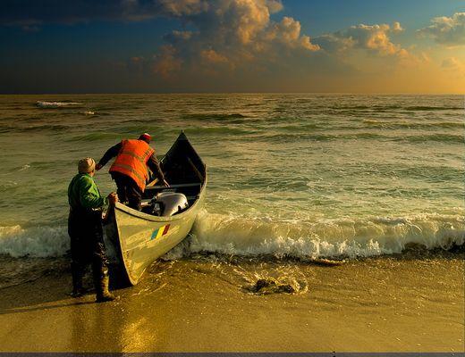Les pêcheurs et la mer