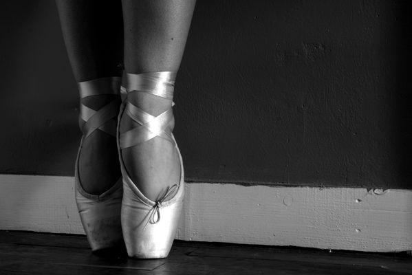 Les pieds de danseuse