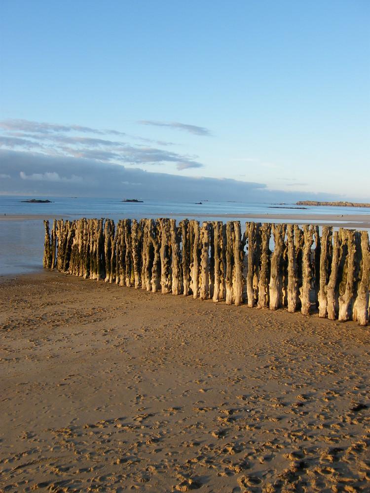 les pilones de St Malo