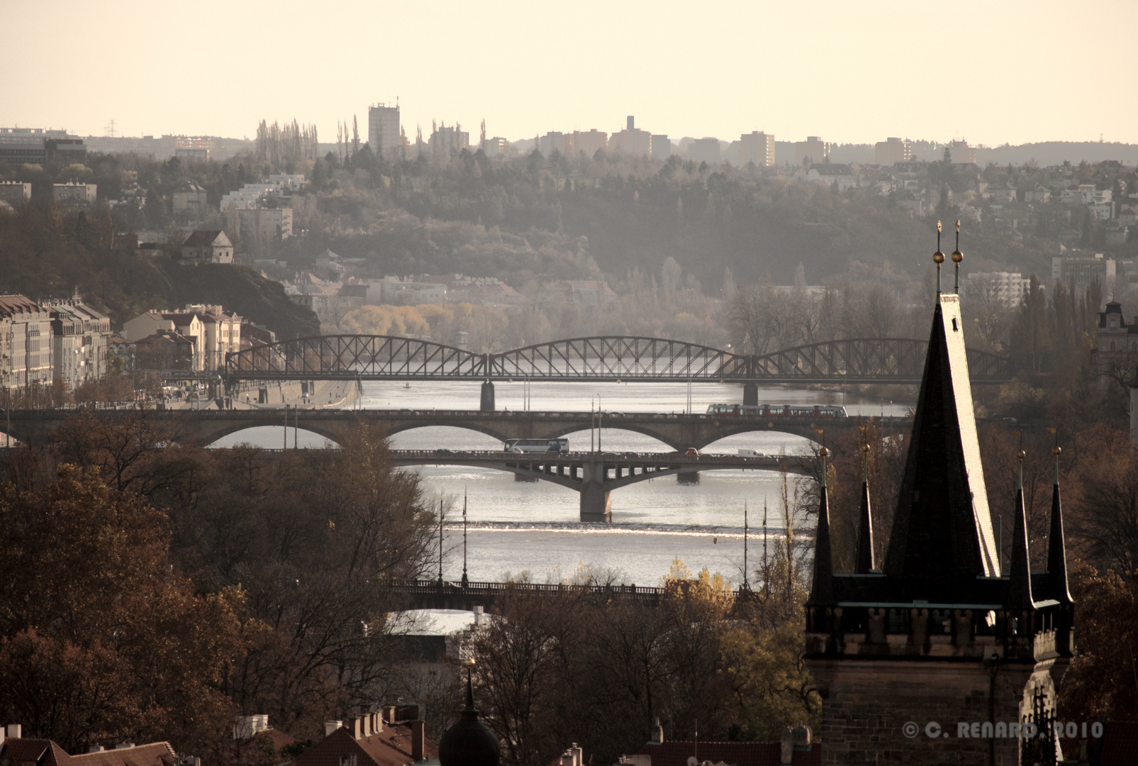 Les ponts de Prague