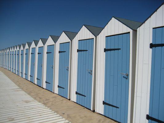Les portes bleues