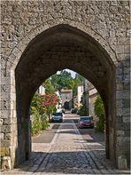 Les portes ouest et est de Vianne