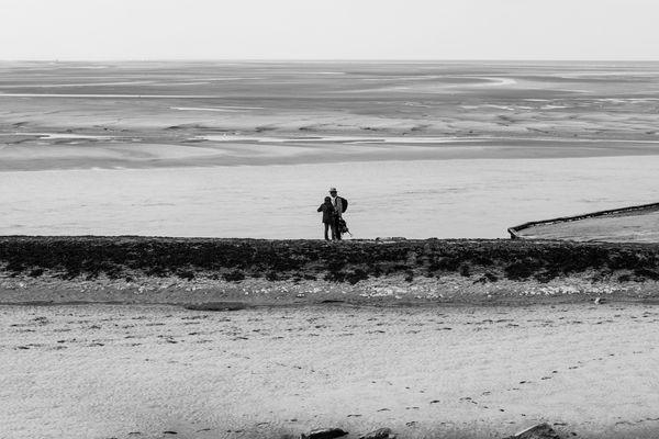 Les promeneurs de la Baie d'Authie