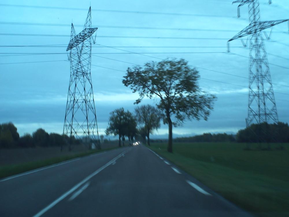 Les pylones.