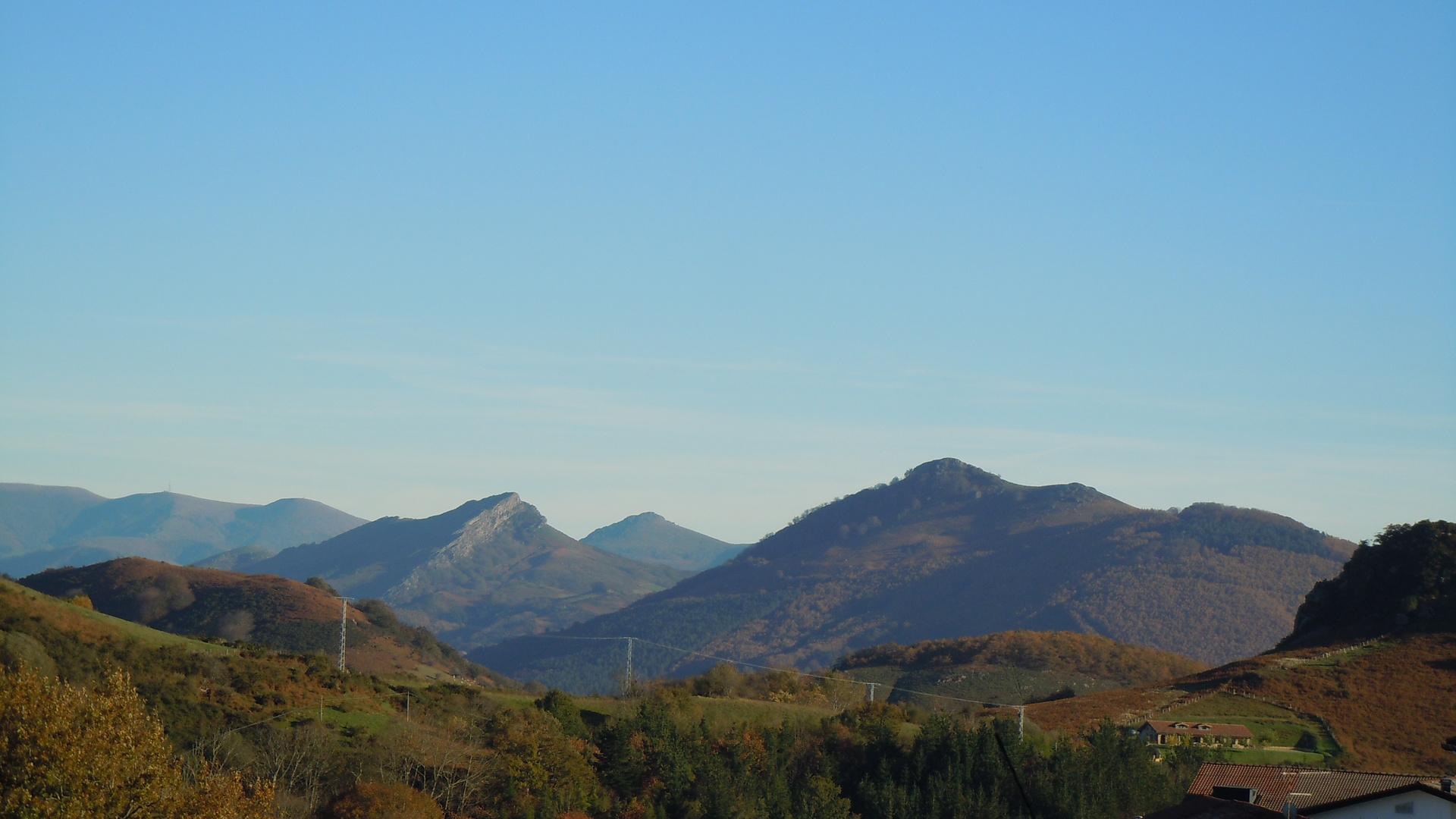 Les Pyrénées à l'automne