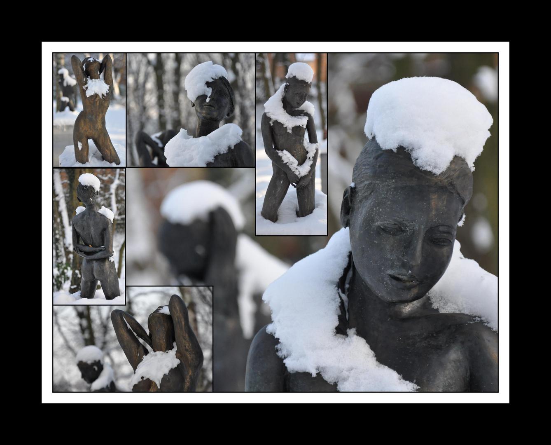 """""""Les quatre saisons"""", Alfred Blondel, Parc de la Source, Louvain-la-Neuve, Belgique"""