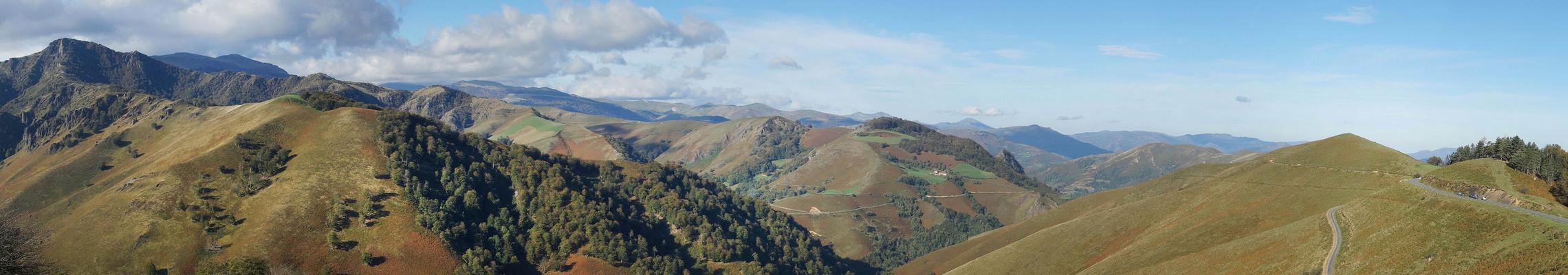 Les reliefs au Pays Basque