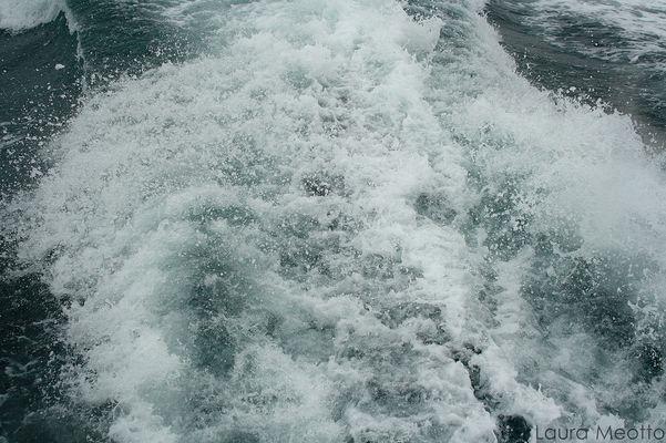 Les remous de la mer