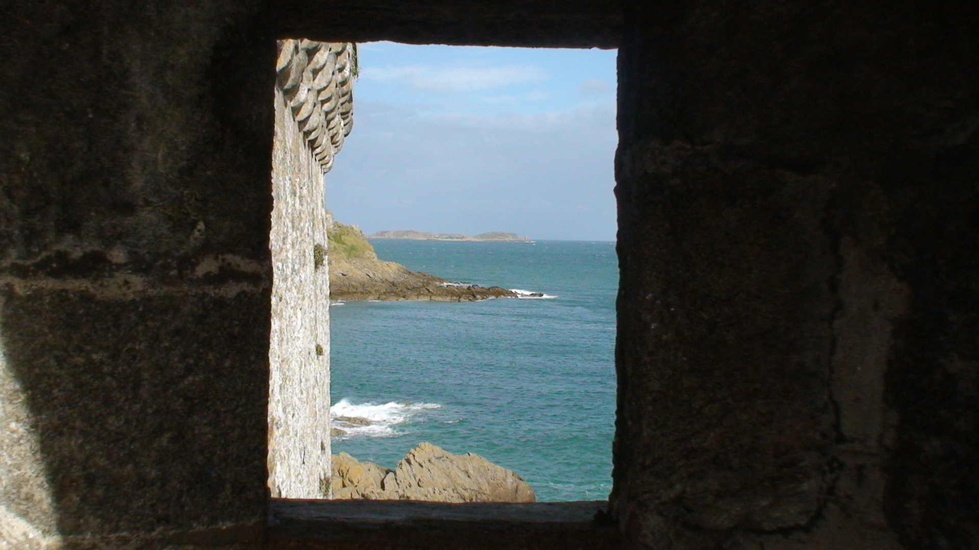 Les remparts à St Malo