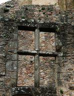 les restes d'une fenêtre