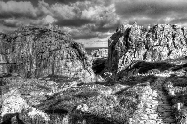 Les rochers de Plougrescant