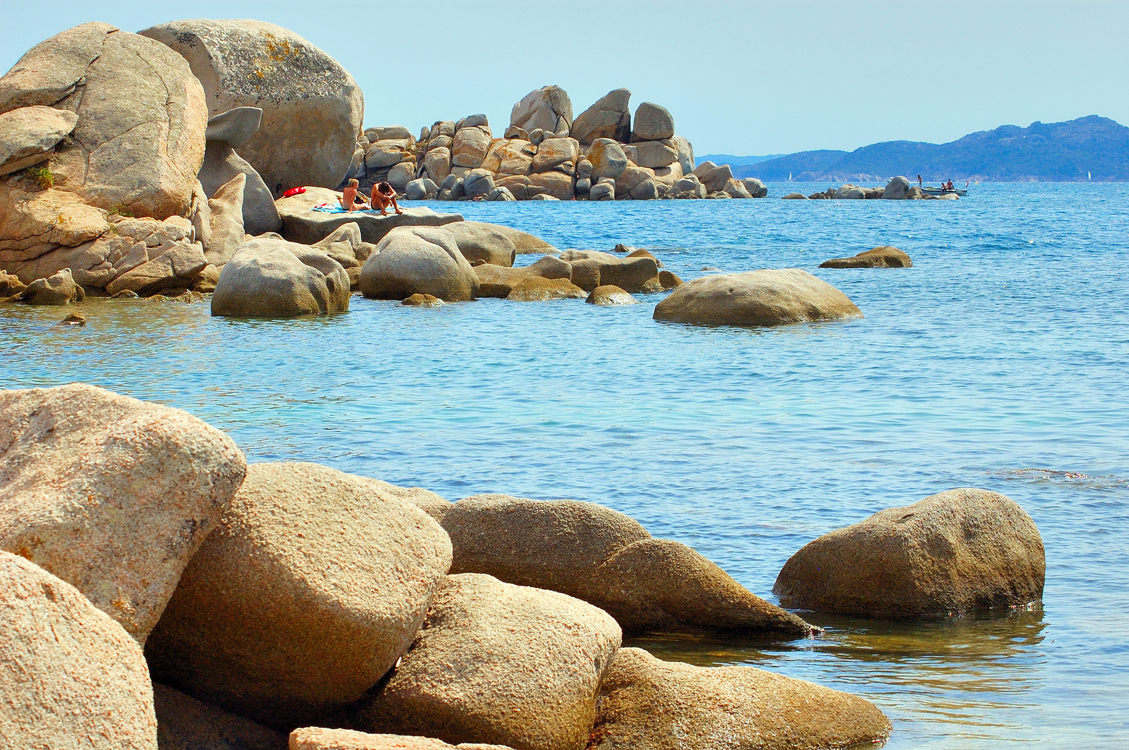 Les rochers de Tamaricciu (Corse)