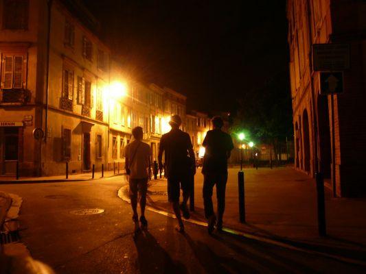les rues de Toulouse