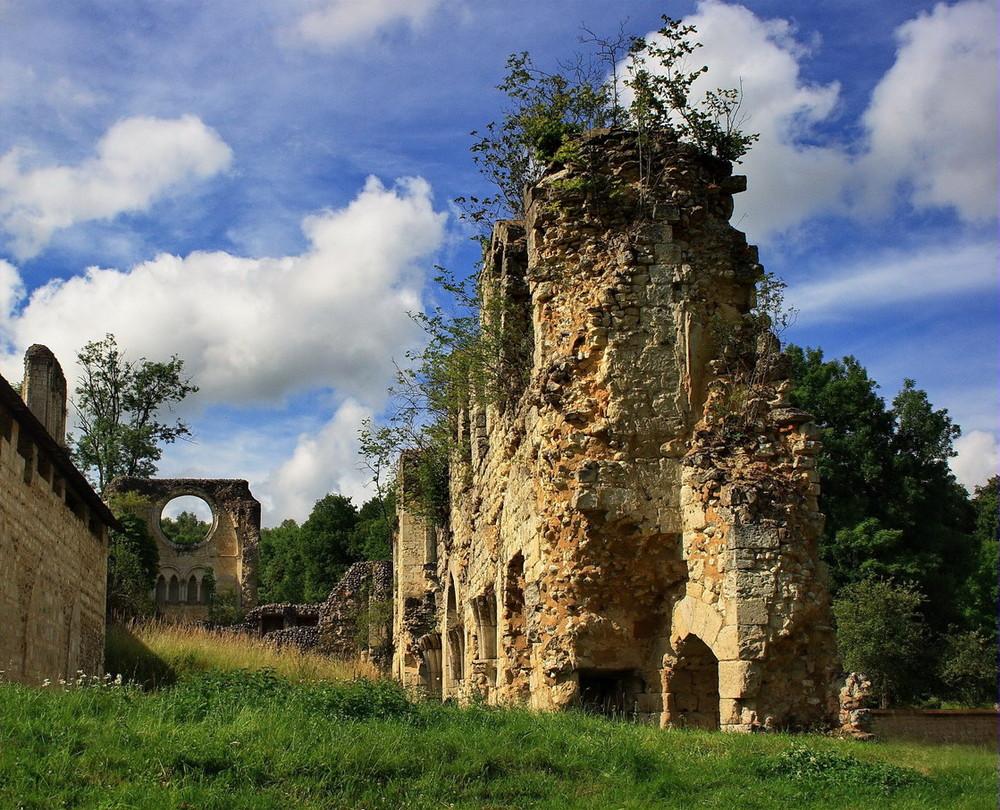 Les ruines romantiques
