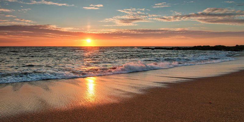 Les Sables - Sunset