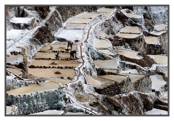Les salines de Maras.