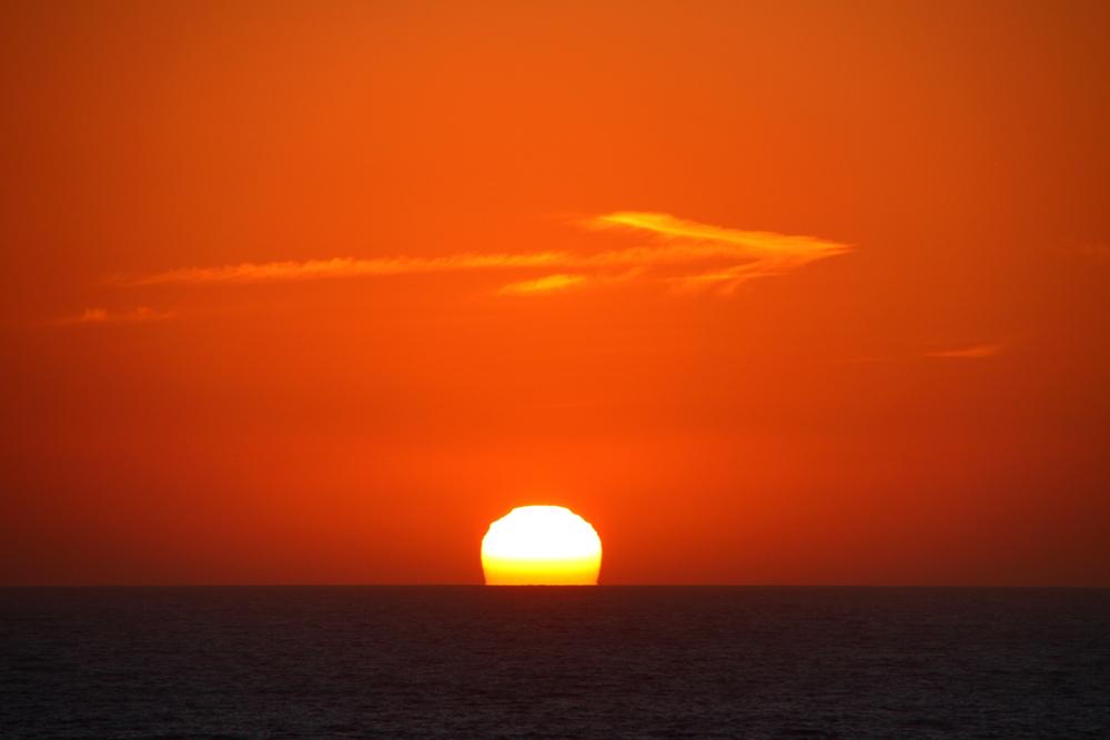 Îles Sanguinaires, Sonnenuntergang
