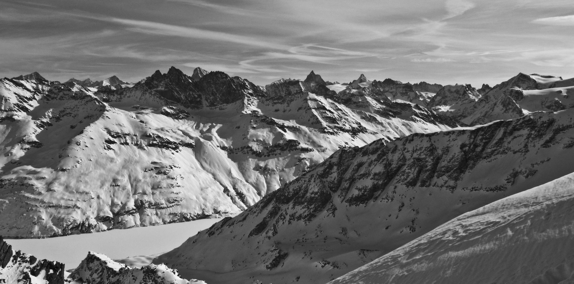 les sommets mythiques du haut valais