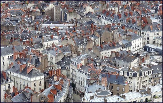 Les toits de Nantes