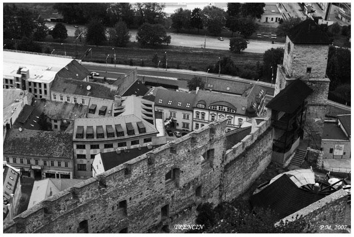Les toits de Trencin