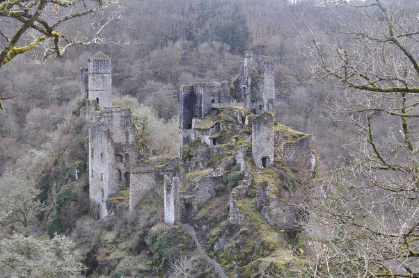 Les tours de Merle, Corrèze