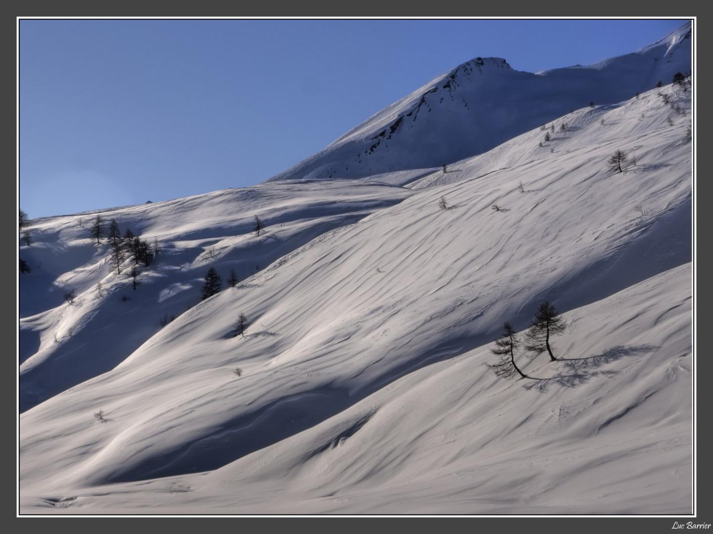Les vagues des Alpes
