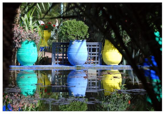 Les vases de Majorelle