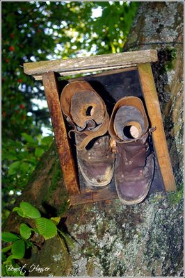 Les vieilles chaussures - Parc de Wesserling