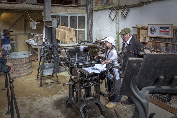 Les vieux métiers à Azannes (Meuse)_10
