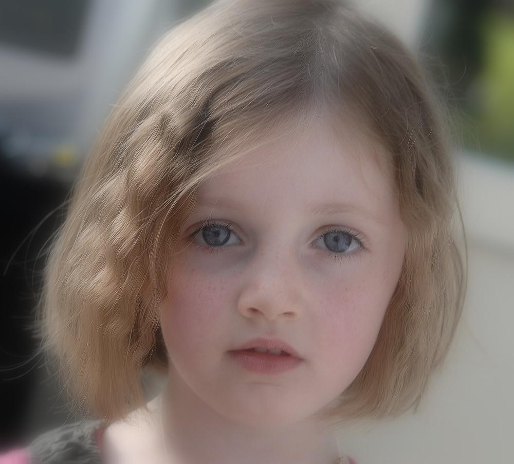 Les yeux de l'innocence...