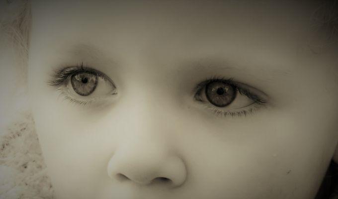 Les yeux de Maëlis.....