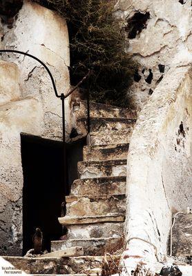 L'escalier...