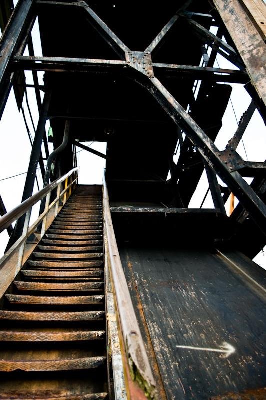 L'escalier du dock