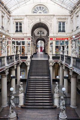 L'escalier du passage Pommeraye