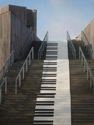 l'escalier musical
