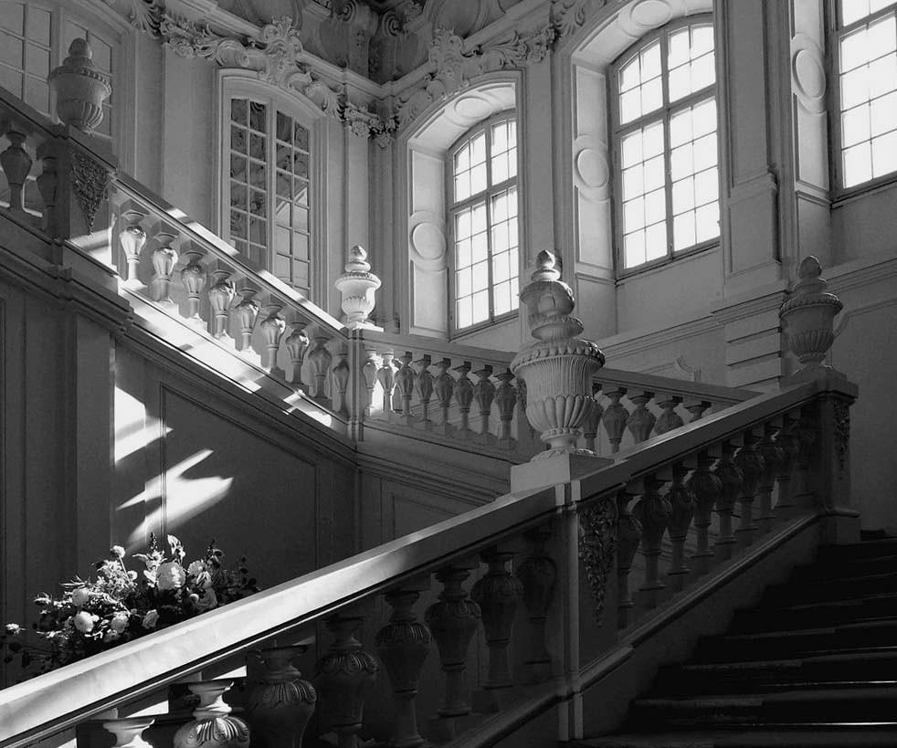 l'escalier Rastrelli