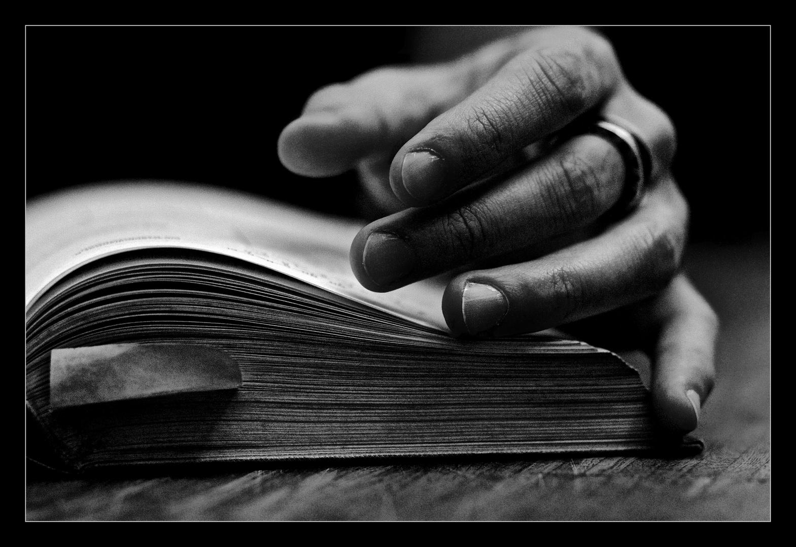 Lesen heißt durch fremde Hand träumen ...