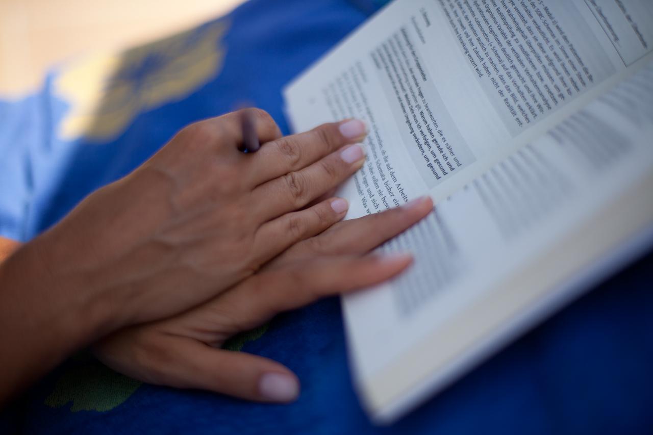 Lesen in der Provence