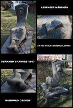 Lesendes Mädchen-Gerhard Brandes